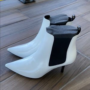 ANINE Bing stevie boots white size 38